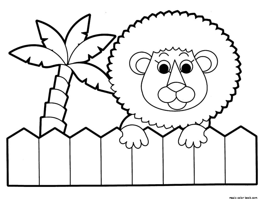 cartoon critters offers coloring pages - photo#44